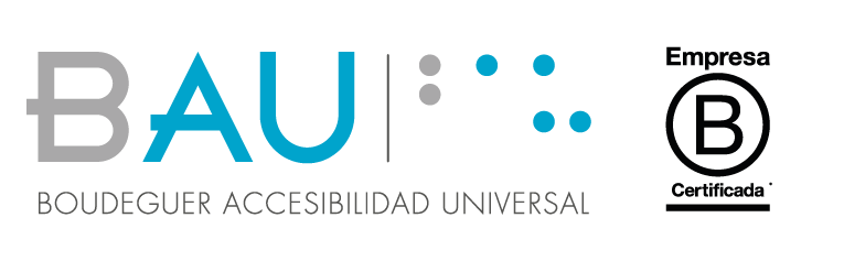 Logo BAU Accesibilidad y Empresa B
